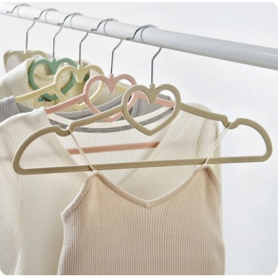 Флокированные вешалки (плечики) для одежды
