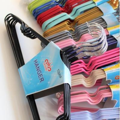 Металлические вешалки для легкой одежды