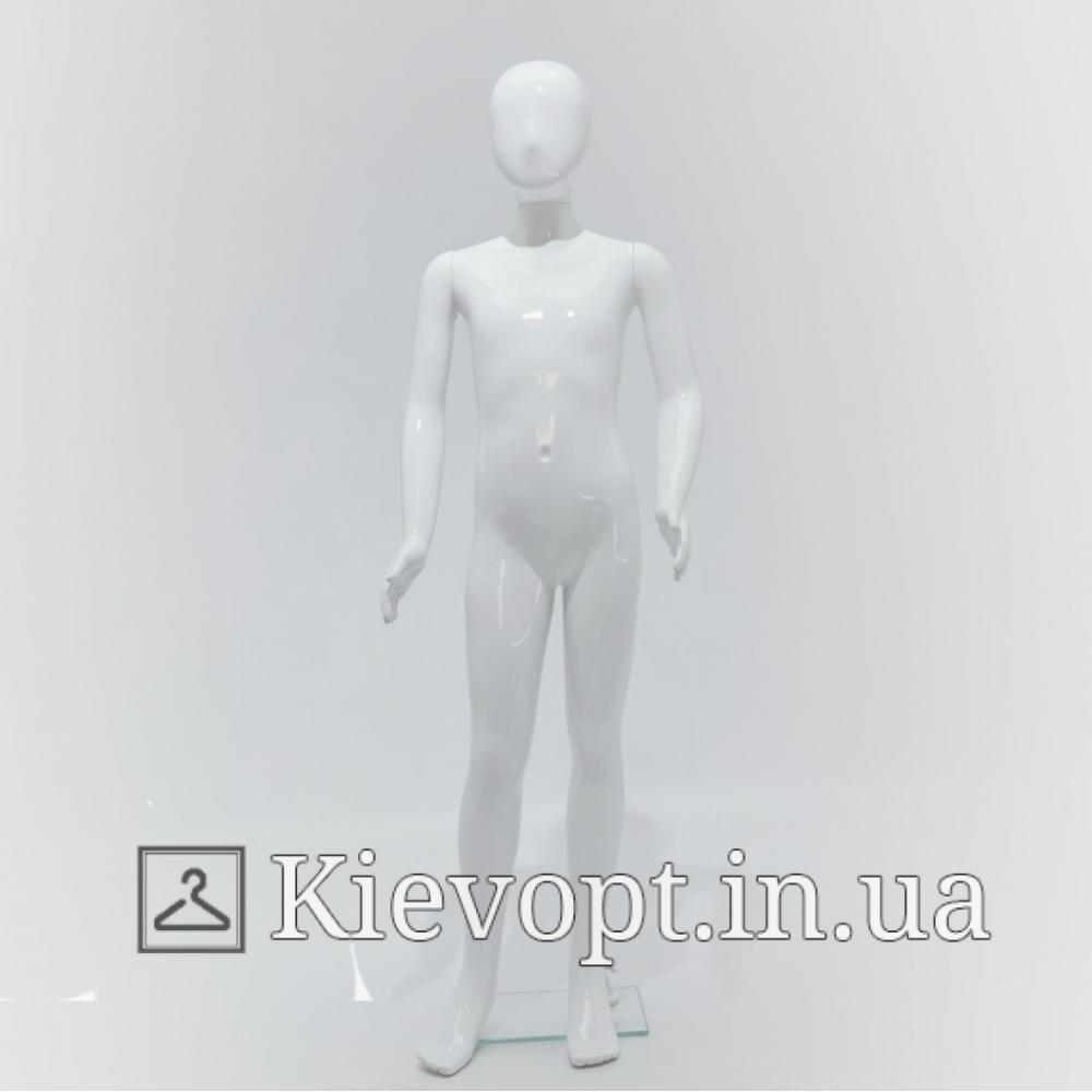 Манекен детский белый для магазина одежды, 140 см (103-01-97)
