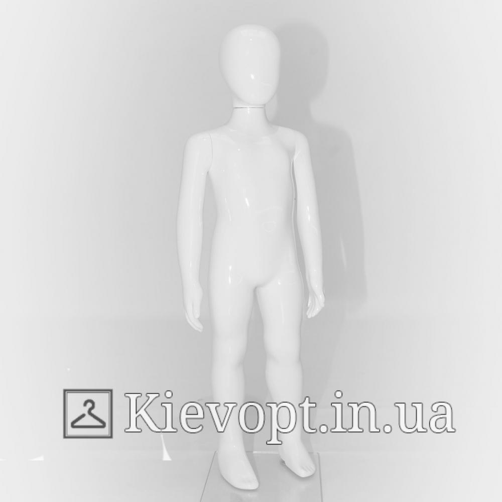 Манекен детский белый для демонстрации одежды, 90 см (103-01-96)