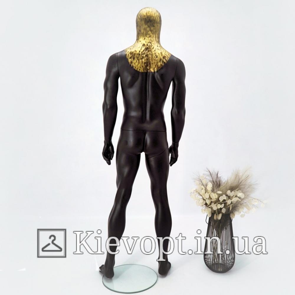 Манекен мужской для магазина одежды абстрактный с головой орла (102-05-02)