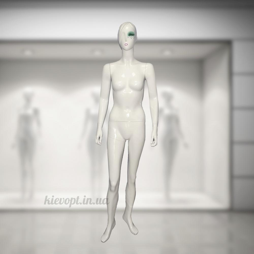 Манекен женский эксклюзивный дизайнерский в полный рост (101-05-09)