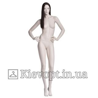 Манекен женский реалистичный с париком (101-08-04)