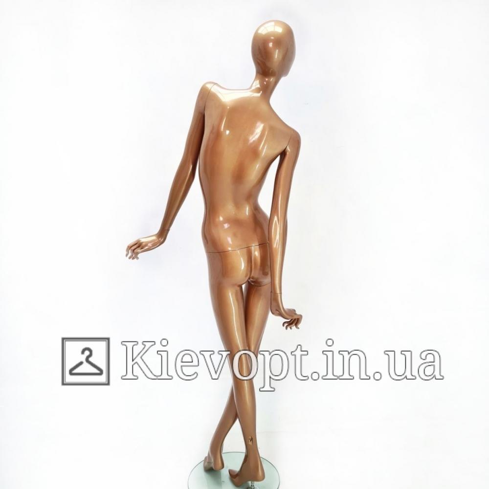 Манекен женский бронзовый для магазина одежды (101-07-21)