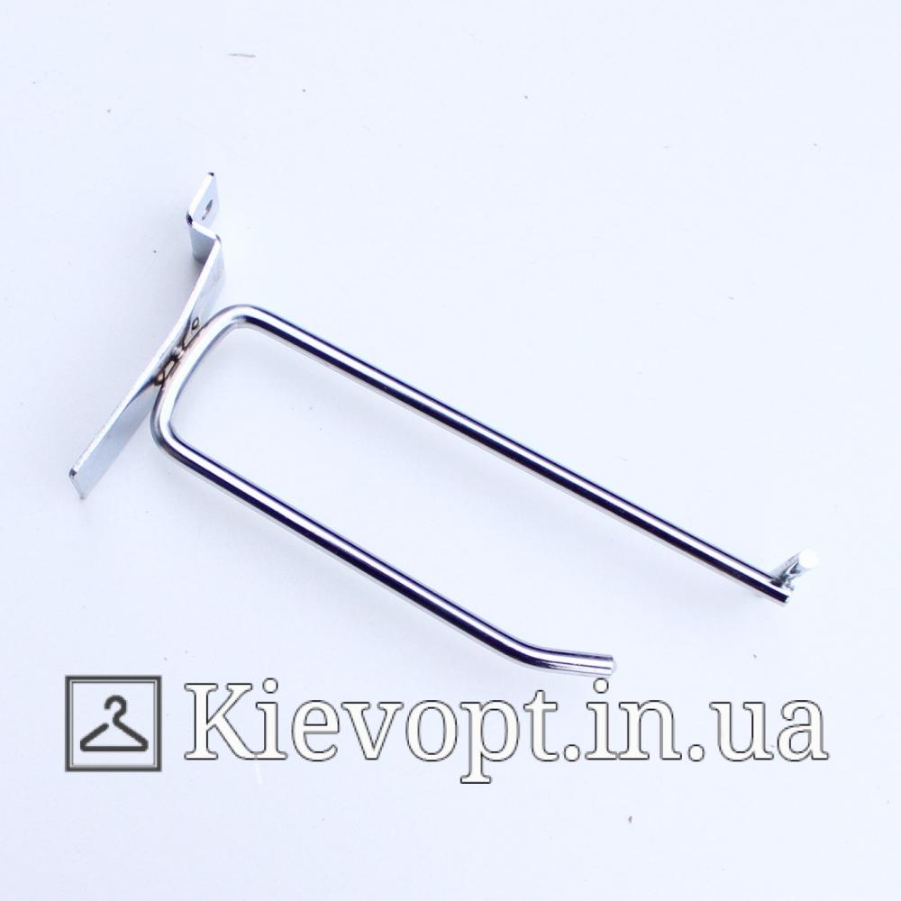 Крючок с ценникодержателем 10 см