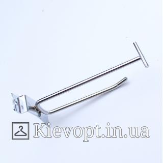 Крючок с ценникодержателем 15 см
