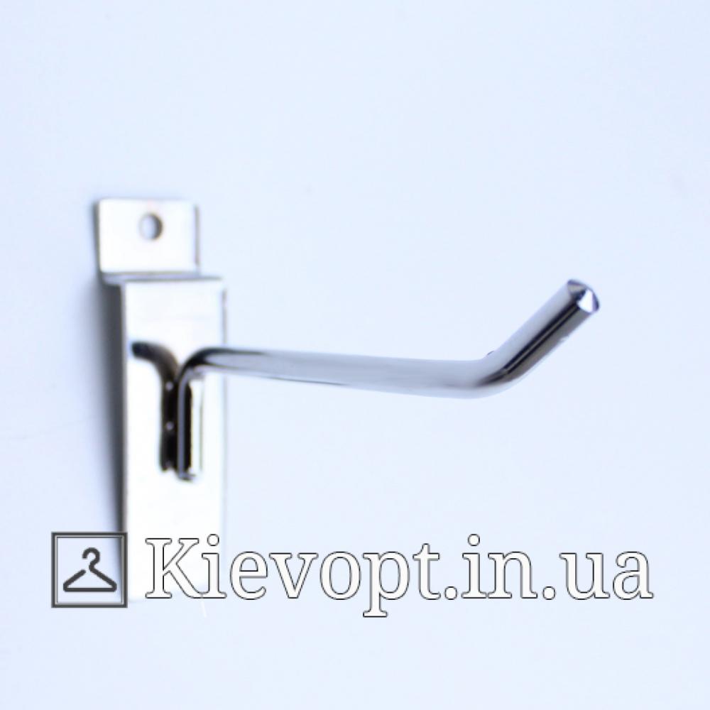 Крючок в экономпанель одинарный 6 мм 5 см