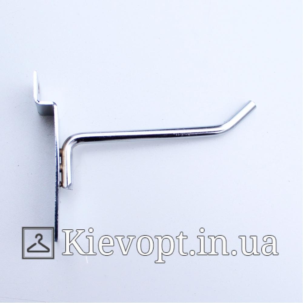 Крючок в экономпанель одинарный 4 мм 10 см