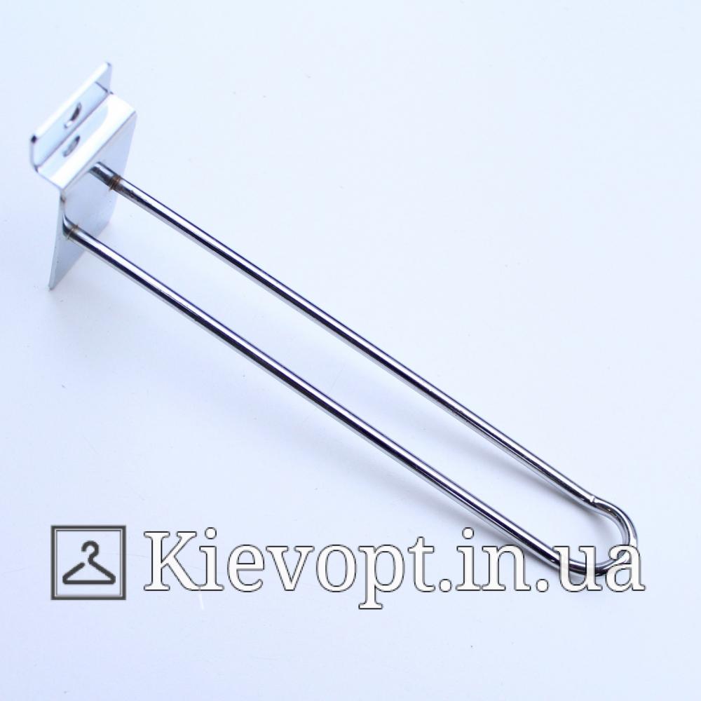 Крючок в экономпанель двойной 5 мм 20 см