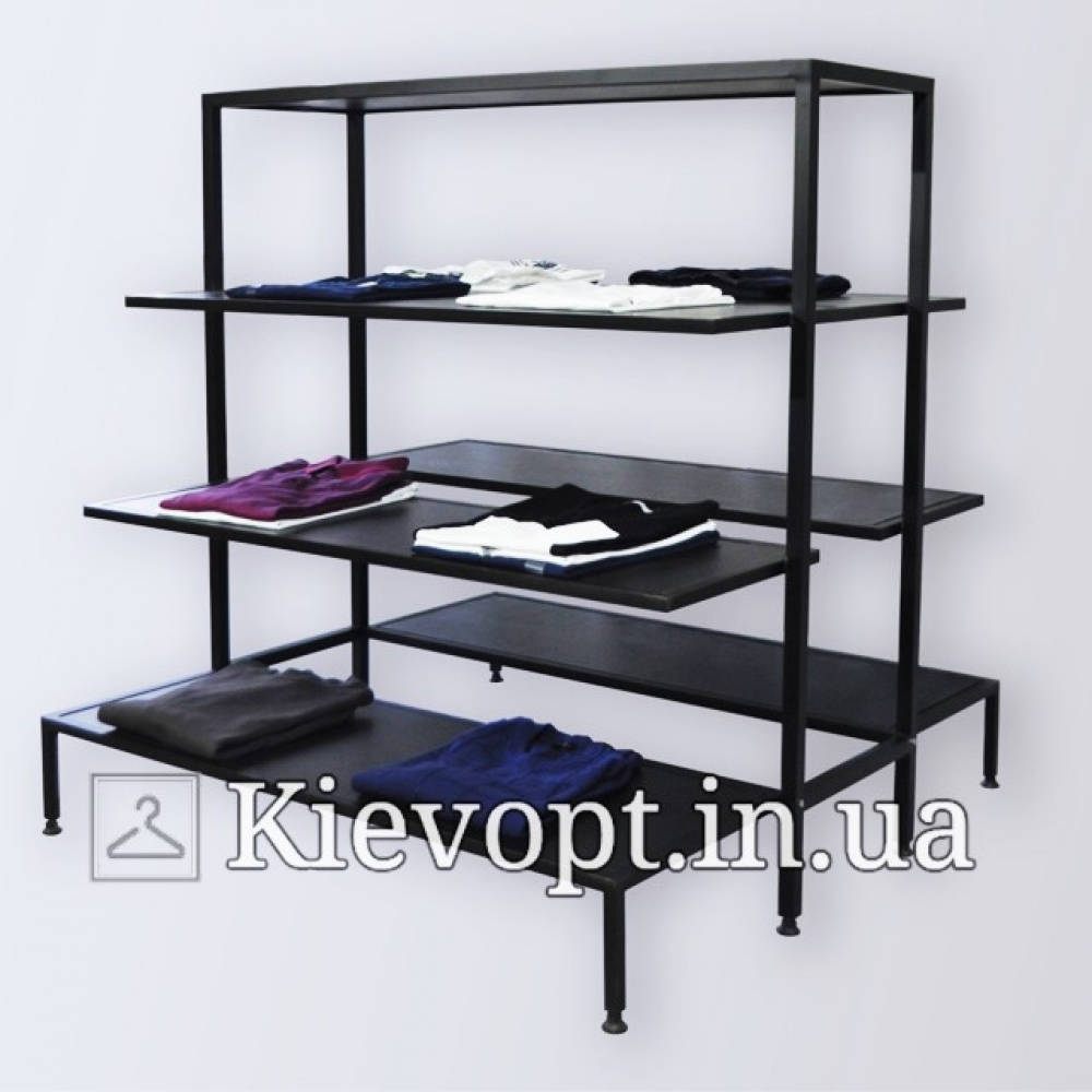 Стол - стойка напольная для выкладки товара (800-01-02)