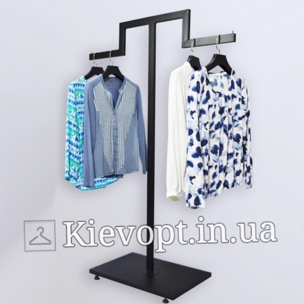 Стойка - вешалка напольная для магазина (800-01-06)