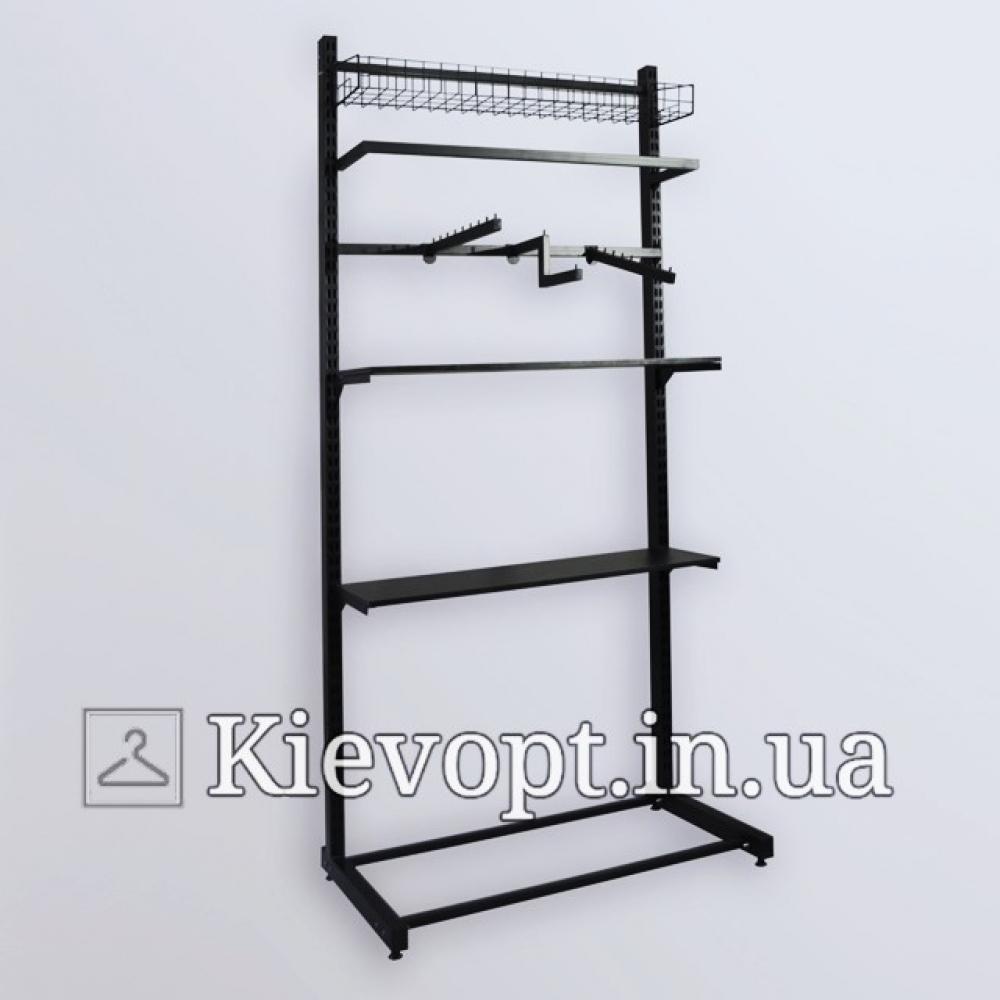 Стойка - вешалка пристенная для одежды (800-01-10)