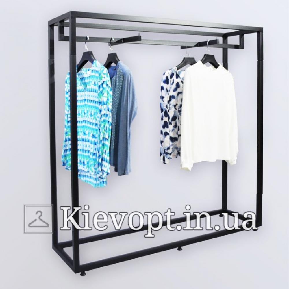 Стойка - вешалка напольная для одежды (800-01-08)