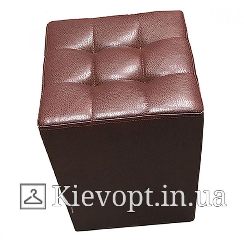 Пуф (банкетка) для магазина коричневый