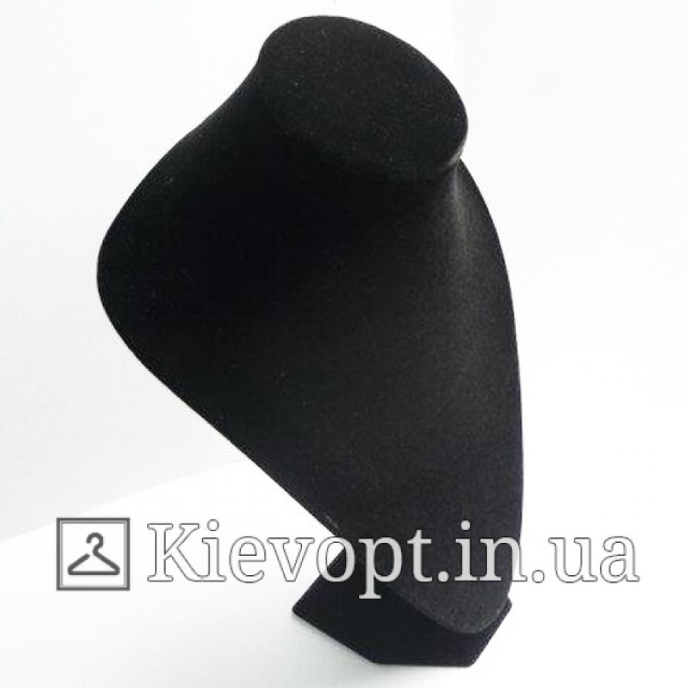Подставка под бижутерию (цепочки) бархатная черная
