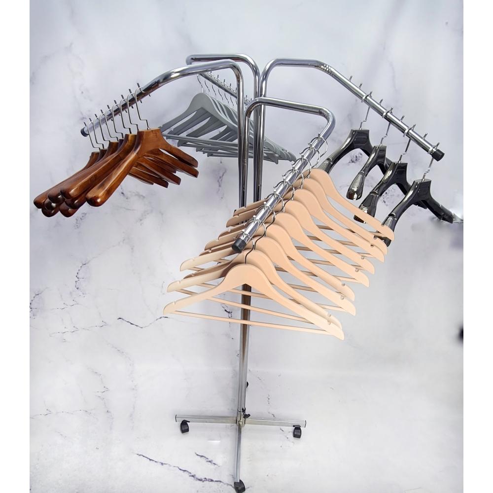 Стойка напольная хромированная вешалка Краб