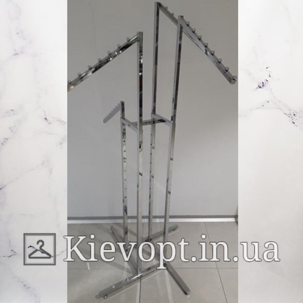 Стойка - вешалка напольная для магазина Краб