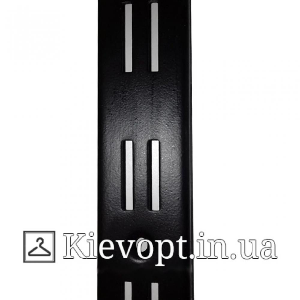 Рейка (профиль) двойная черная, 2 м