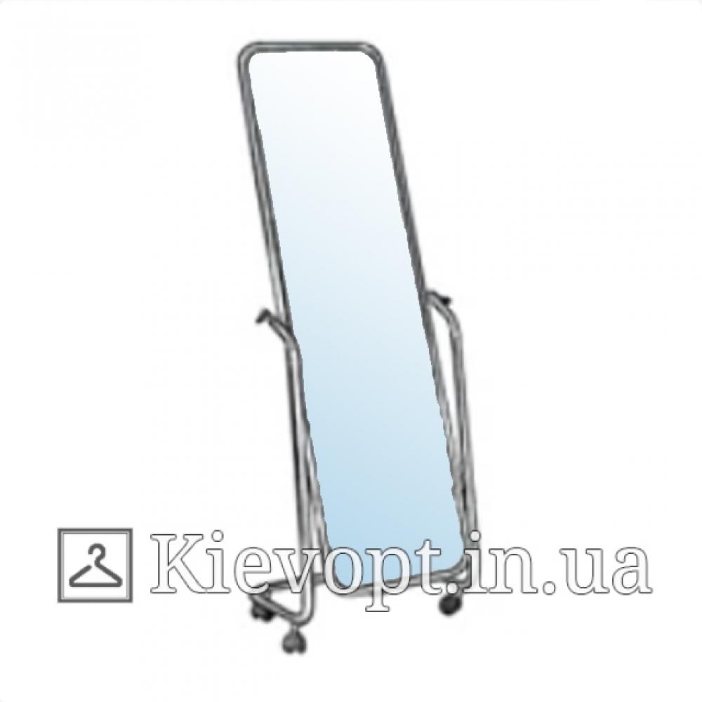 Зеркало для магазина в хромированной раме