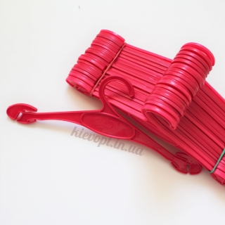 Плечики вешалки для нижнего белья розовые, 27 см