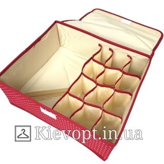 Органайзер для белья с крышкой, цвета разные