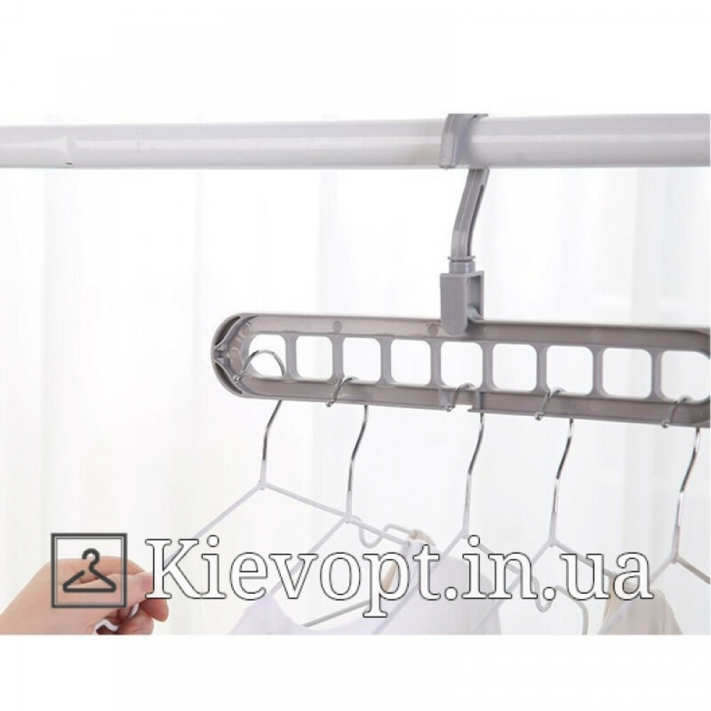 Умная вешалка - органайзер для одежды. Вешалки плечики пластиковые