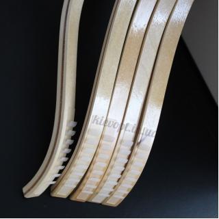 Деревянные плечики вешалки бамбуковые лакированные, 42 см