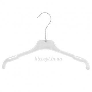 Детские плечики вешалки для легкой одежды белые, 30 см