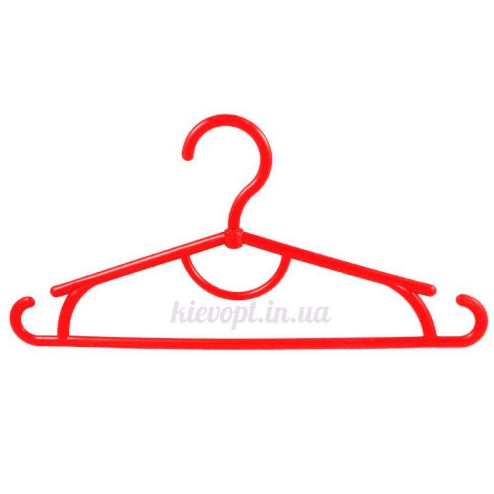 Детские вешалки плечики пластиковые красные, 31 см