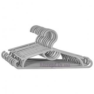 Детские вешалки плечики пластиковые серебро, 31 см