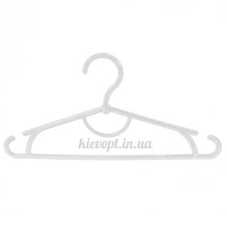 Детские вешалки плечики пластиковые белые, 31 см, 10 шт