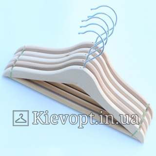 Детские плечики вешалки деревянные не лакированные ЭКО, 31 см