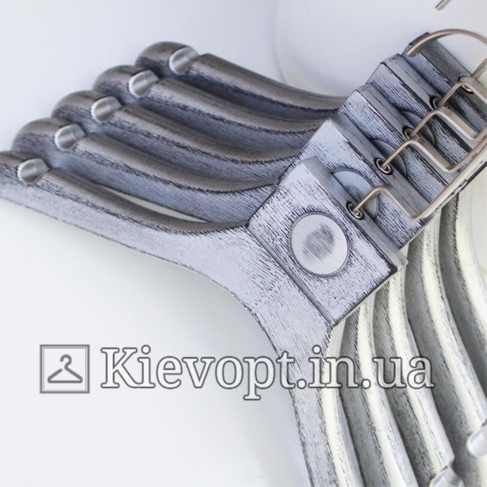 Детские плечики вешалки под старину серебрянные LOFT, 31 см