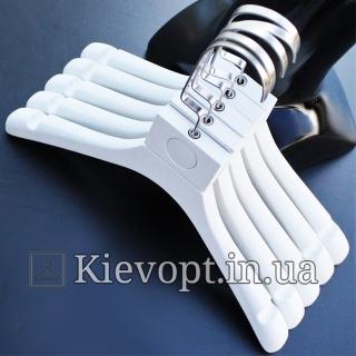 Детские плечики вешалки под старину белые LOFT, 31 см