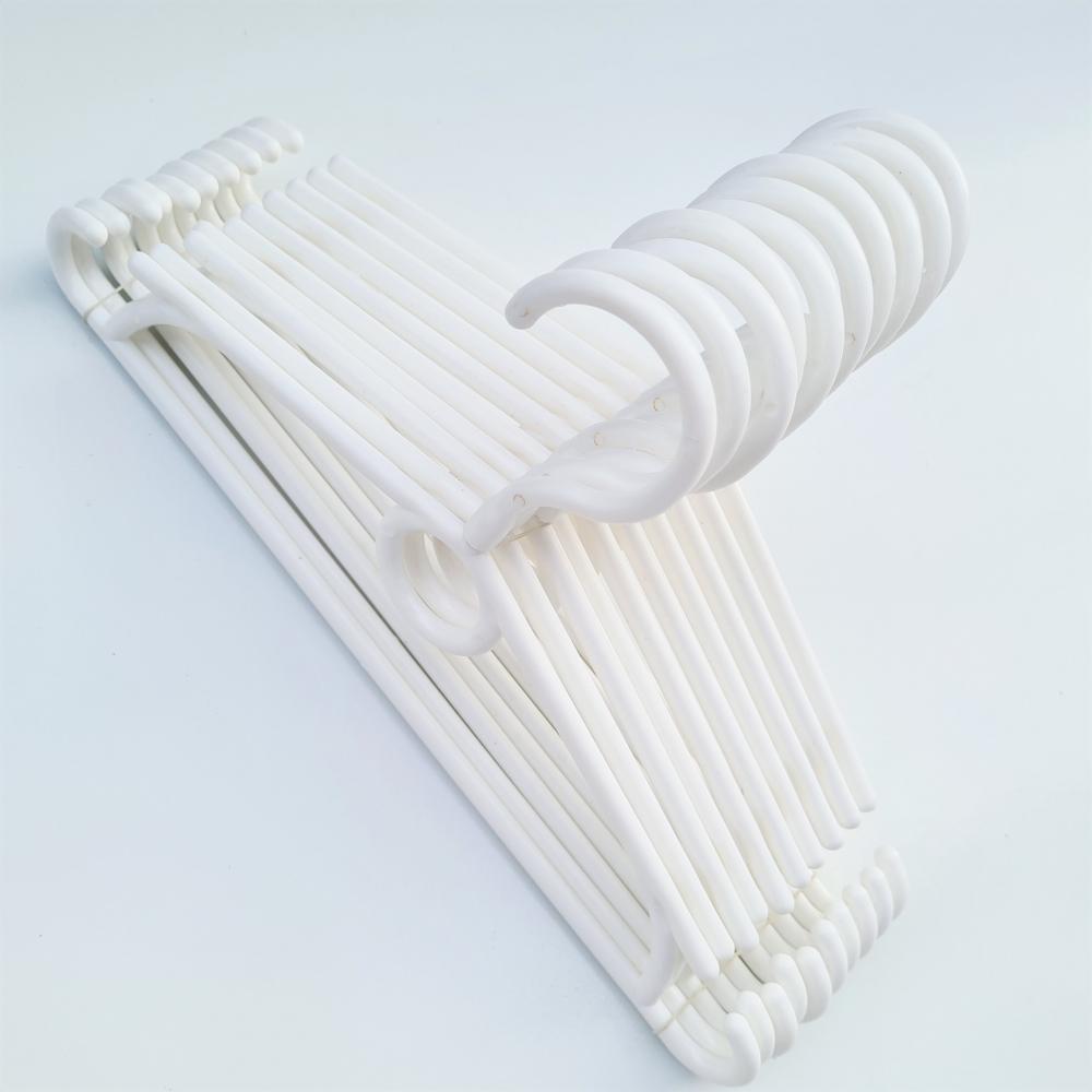 Детские плечики вешалки для одежды белые Польша, 31 см, 10 шт (04-01-09)