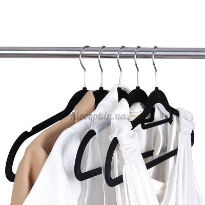 Бархатные вешалки (плечики) для легкой одежды