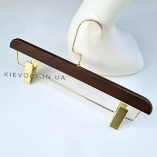 Плечики вешалки акриловые для брюк Коричневые , 40 см (05-05-47)