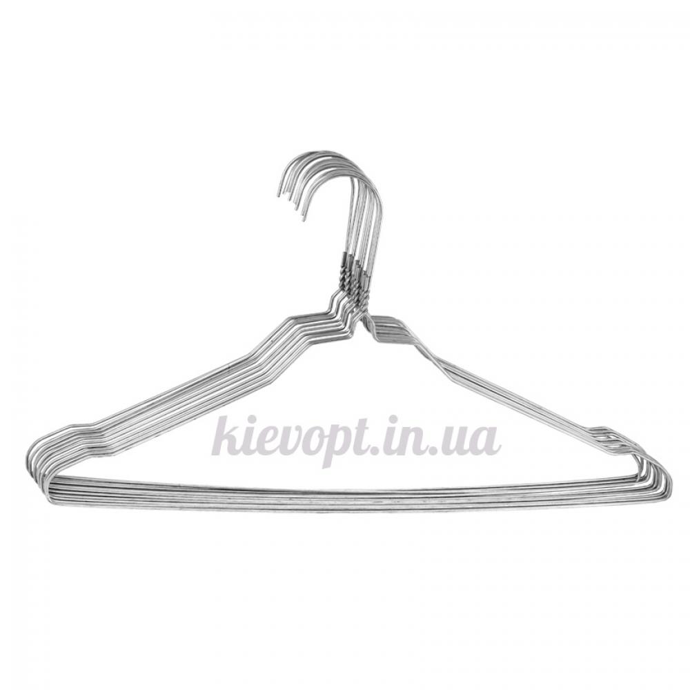 Металлические вешалки плечики для химчисток, прачечных, 40 см