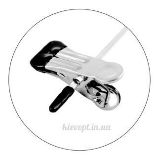 Брючные вешалки плечики металлические с прищепками, 40 см