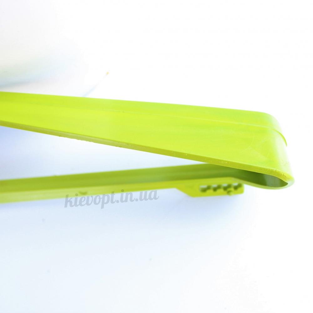 Вешалки плечики пластиковые для верхней одежды салатовые, 48 см, 5 шт