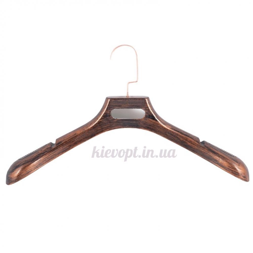 Вешалки плечики для верхней одежды, шуб и трикотажа под старину, 46 см