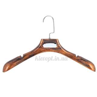 Вешалки плечики для верхней одежды и трикотажа под старину, 40 см