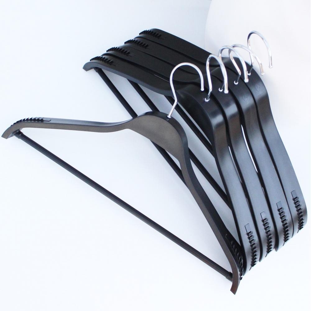 Вешалки плечики тремпеля для костюмов, пиджаков, верхней одежды, 44 см