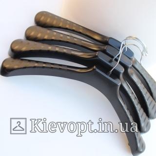 Вешалки плечики для верхней одежды широкие, 46 см (05-02-06)
